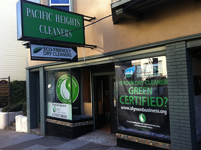 Pacific Heights Cleaners: San Francisco